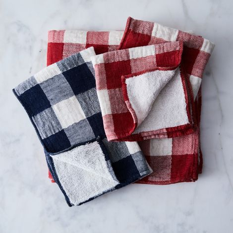 Buffalo Check Japanese Bath Towels