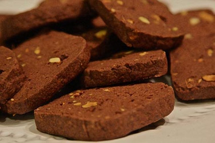 Orange & Zesty Chocolate Ginger Shortbread