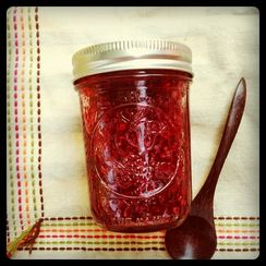 Raspberry Lemon Balm Jam