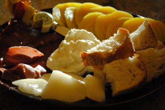 Bresaola, Burrata & Golden Beets