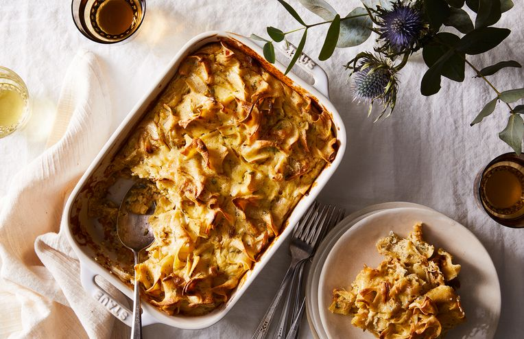 A Brown Buttery Noodle Kugel to Tweak to Your Heart's/Pantry's Content