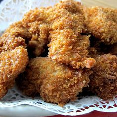 Finger Licking Panko Crusted Oven Fried Chicken