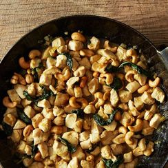 Dinner Tonight: Chicken and Cashews + Chinese Broccoli Salad