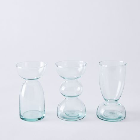 Canopy Recycled Glass Vase Collection