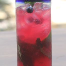 Blueberry Mint Mojito