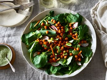 A Creamy Buffalo Chickpea Salad That Just Happens to Be Vegan