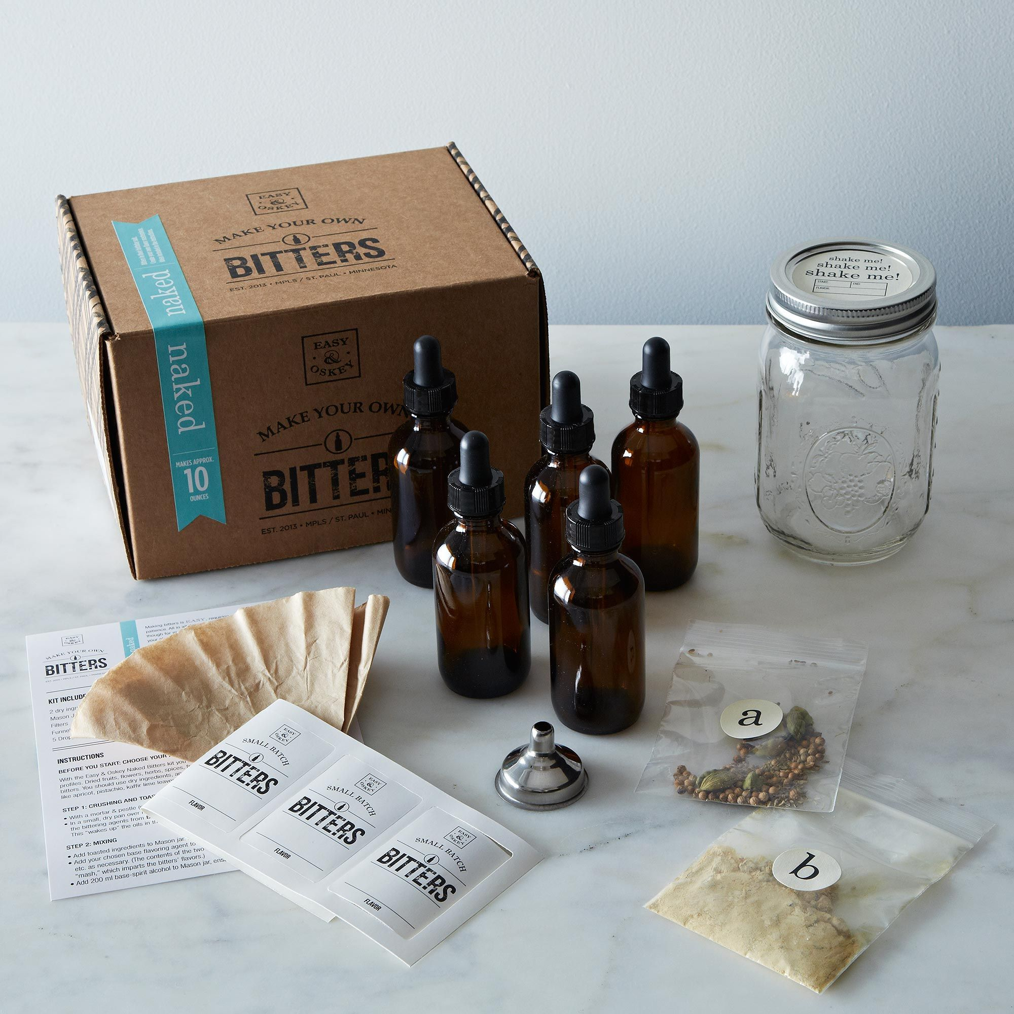 Make Your Own Bitters Kit - Naked