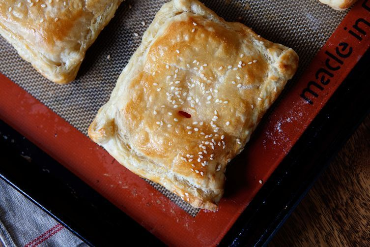 Tomato and Cream Cheese Turnover