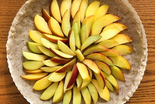 Gluten-Free Almond Peach Tart
