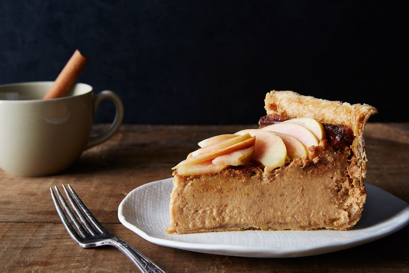 Cider Cheesecake Pie