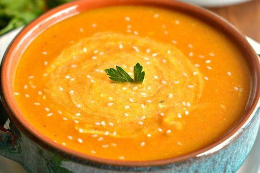 Butternut Sweet Potato Soup