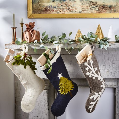 Handmade Holiday Felt Stockings