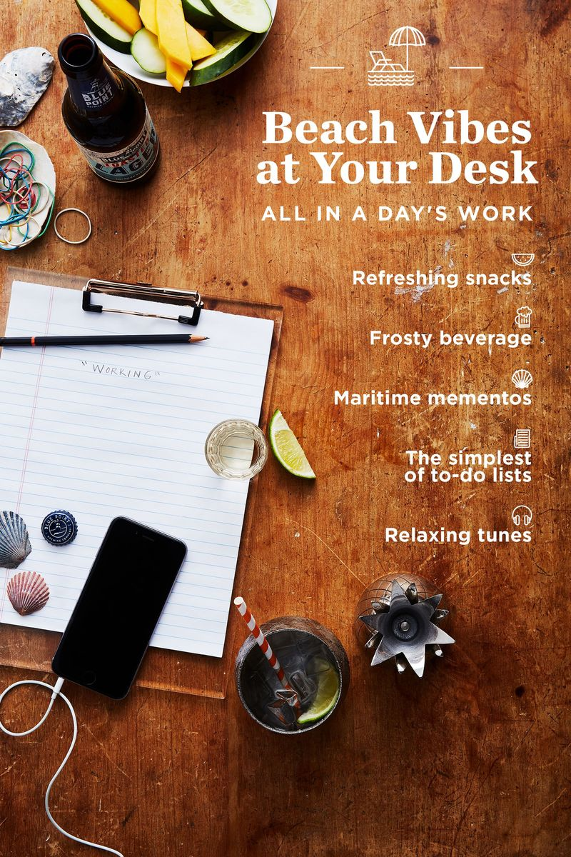 Ready to wrap up your summer workday? Start the party at your desk.