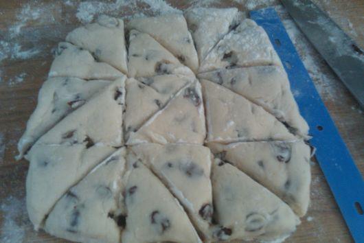 Gluten-free Petite Vanilla Scones (like Starbucks only better:)!)