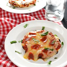 Grilled Personal Pattypan Pizzas