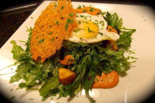 Roasted Salad with Smoky Romesco
