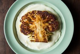 Dan Barber's Cauliflower Steaks with Cauliflower Purée