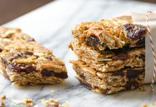 cherry almond granola bars