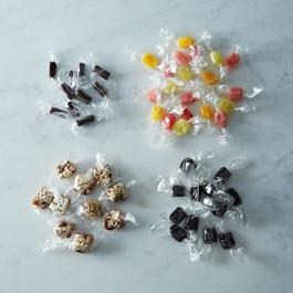 Salty Licorice, Twizzlie Rolls, Popcorn Caramels, Dreams Come True QUIN Halloween Collection