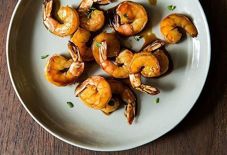 Honey-Glazed Shrimp