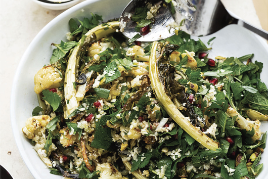 Ottolenghi's Cauliflower, Pomegranate, and Pistachio Salad