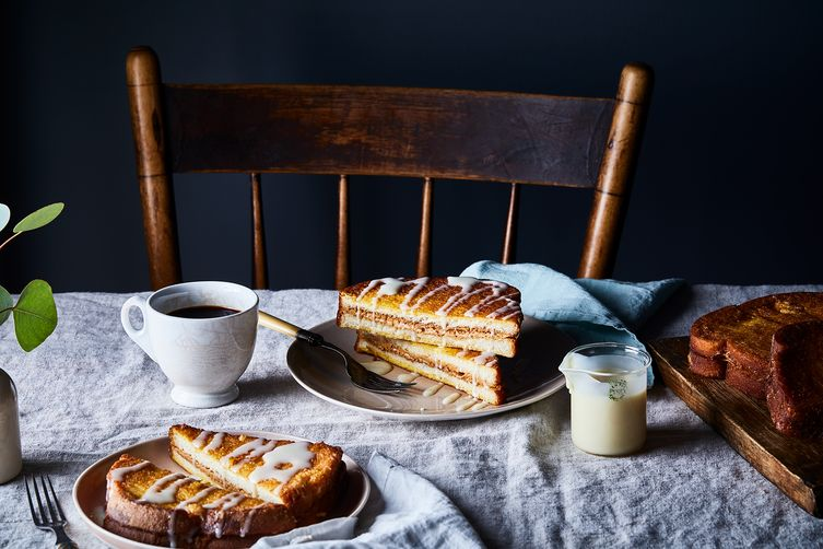 Hong Kong–Style Peanut Butter French Toast with Condensed Milk