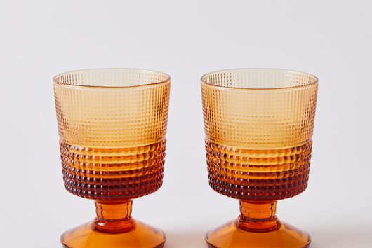 Italian Retro Cocktail Glasses (Set of 2)