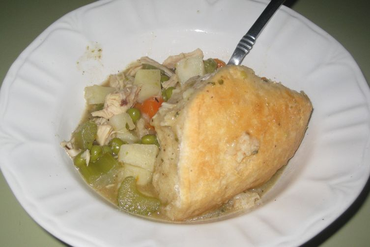 Chicken Stew n' Biscuits