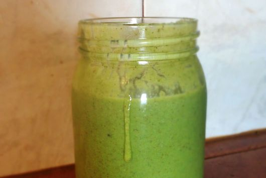 Peachy Green Smoothie