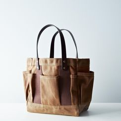 Waxed Tote Bag