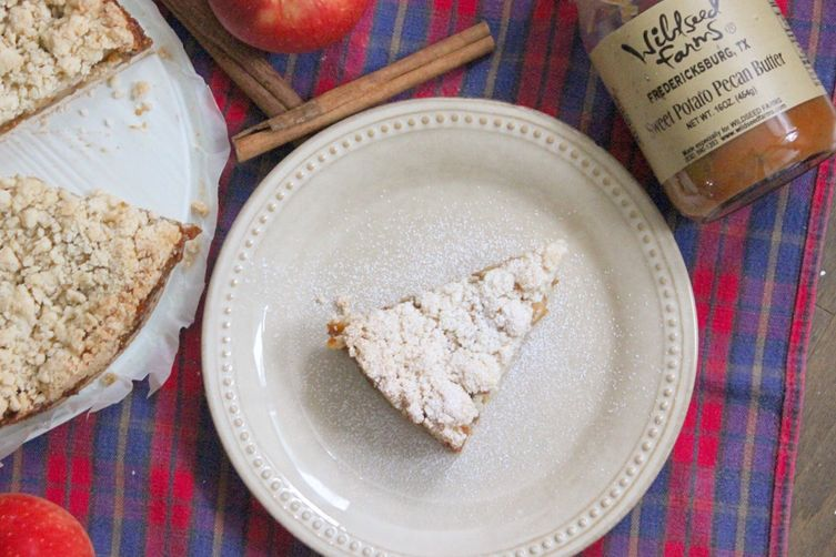 Sweet Potato & Apple Crumb La Torta Sbriciolata