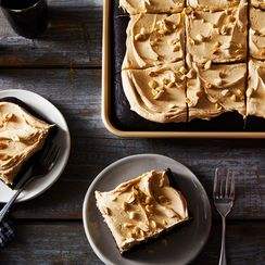 Coke & Peanut Butter Sheet Cake Is Salty, Sweet & Southern