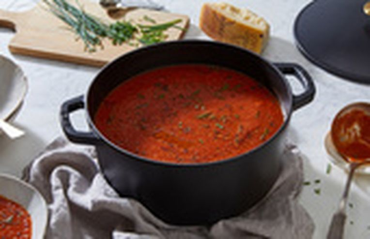 This Modern, Affordable Dutch Oven Can Braise with the Best of Them