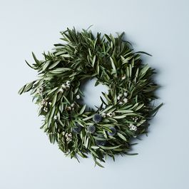 Olive & Thistle Wreath