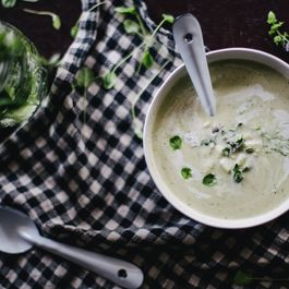 Apple Fennel Soup by Marivic Restivo