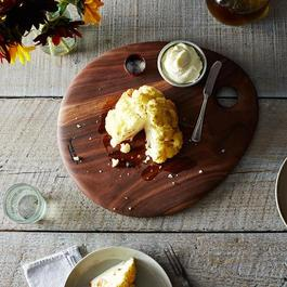 Wooden Oval Serving Platter