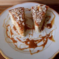 Coconut-Almond  Pudding Cake