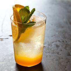 Orange Ginger Mint Sodas