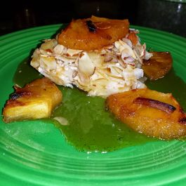 Noodle Kugel with Pineapple Brule