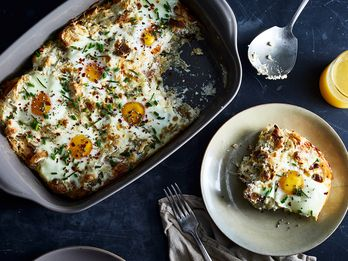 Eggs, All Cozied Up in Fluffy Ricotta