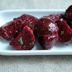 Baby Beets and Herbs Salad