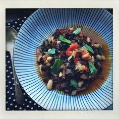 Kale, Tomato and White Bean Stew