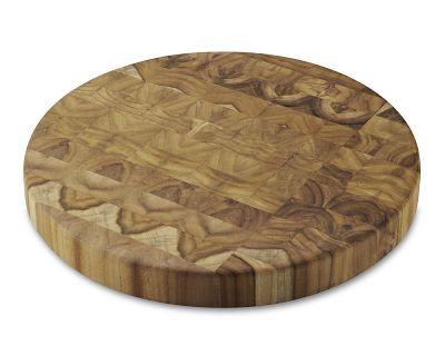Proteak End-Grain Round Cutting Board