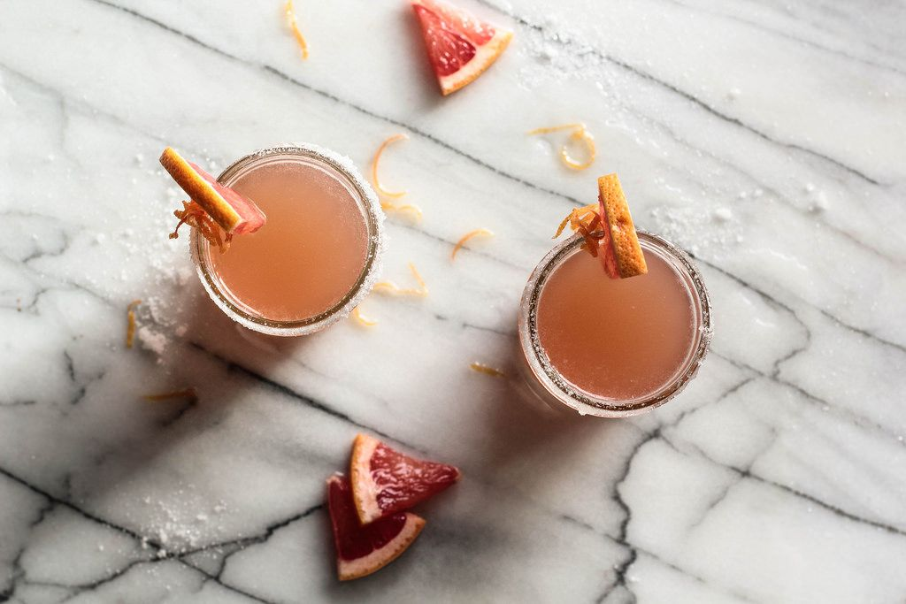 Grapefruit Rum Cocktail