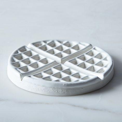 Porcelain Waffle Trivet
