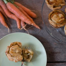 Mini Vegetarian Pot-pies