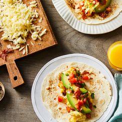 A Perfect California Breakfast Burrito