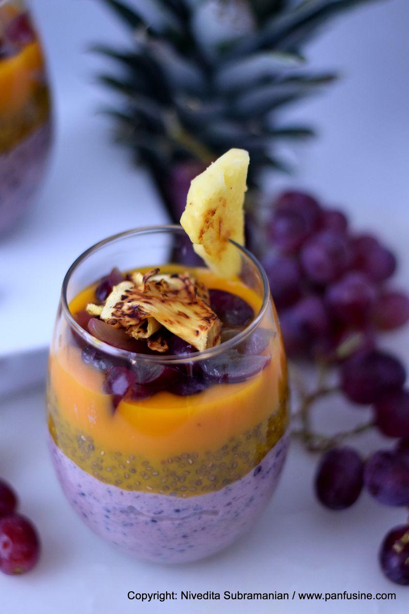 Chia , Mango & Forbidden rice pudding Recipe on Food52