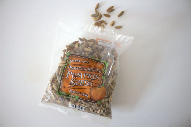 Pumpkin seeds or pepitas? Who can say.