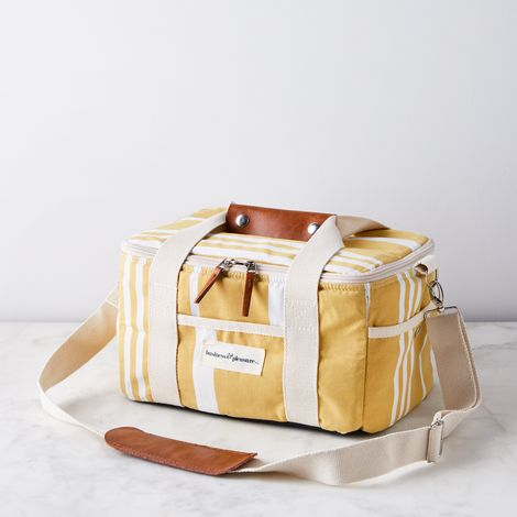 Vintage-Inspired Beach Totes & Coolers